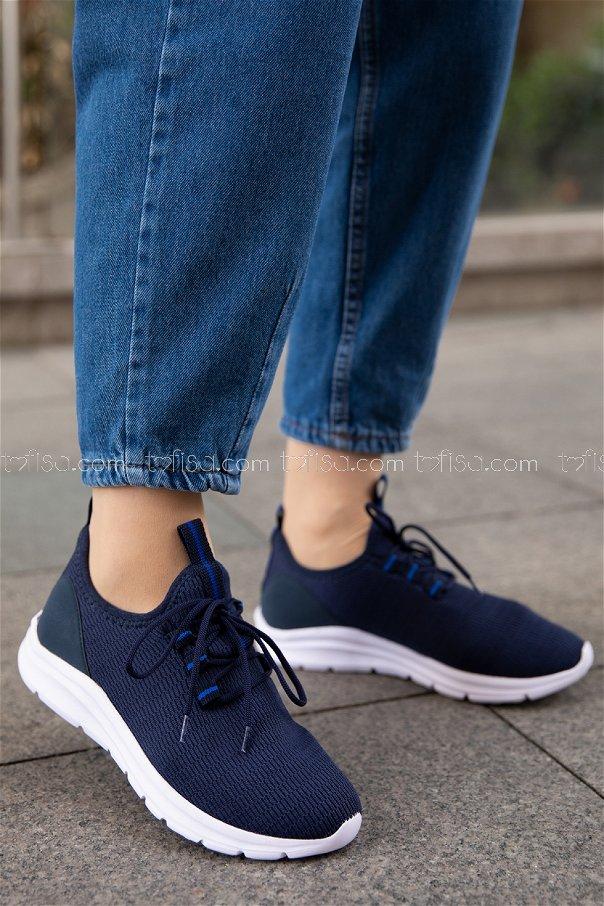Spor Ayakkabı LACIVERT - 20150