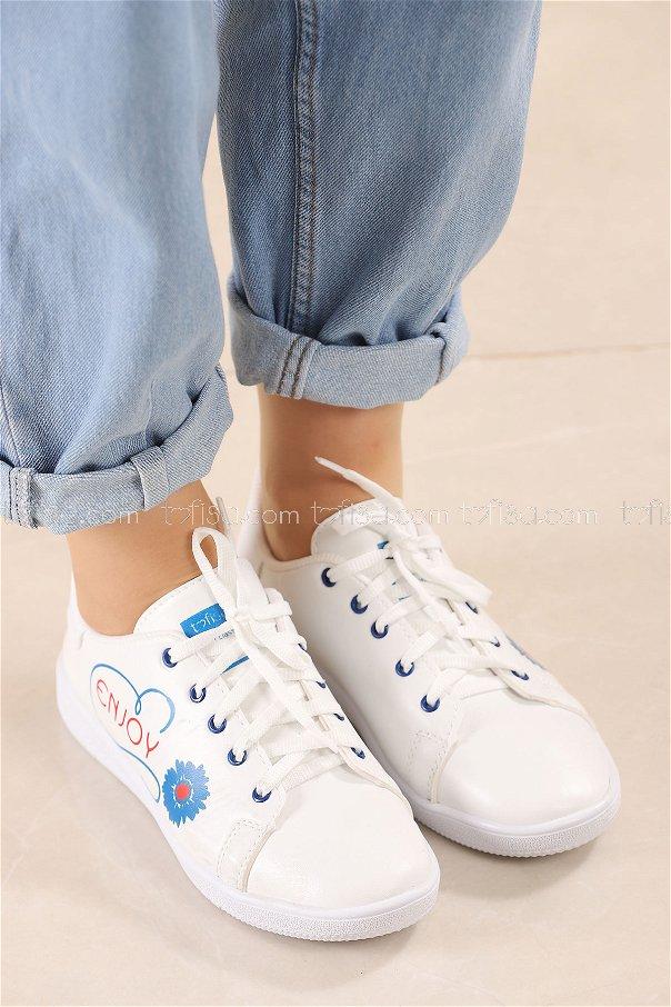 Spor Ayakkabı MAVI - 8839