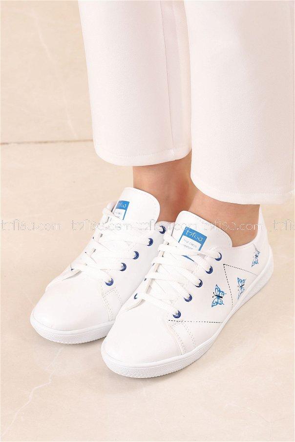 Spor Ayakkabı MAVI - 8840