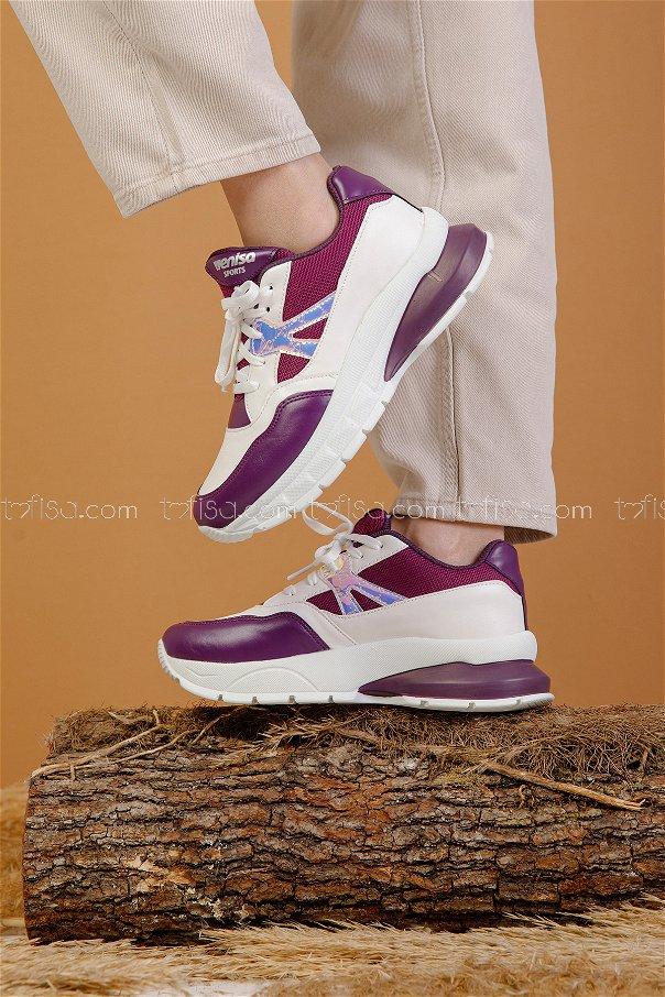 Spor Ayakkabı Mor - 8703
