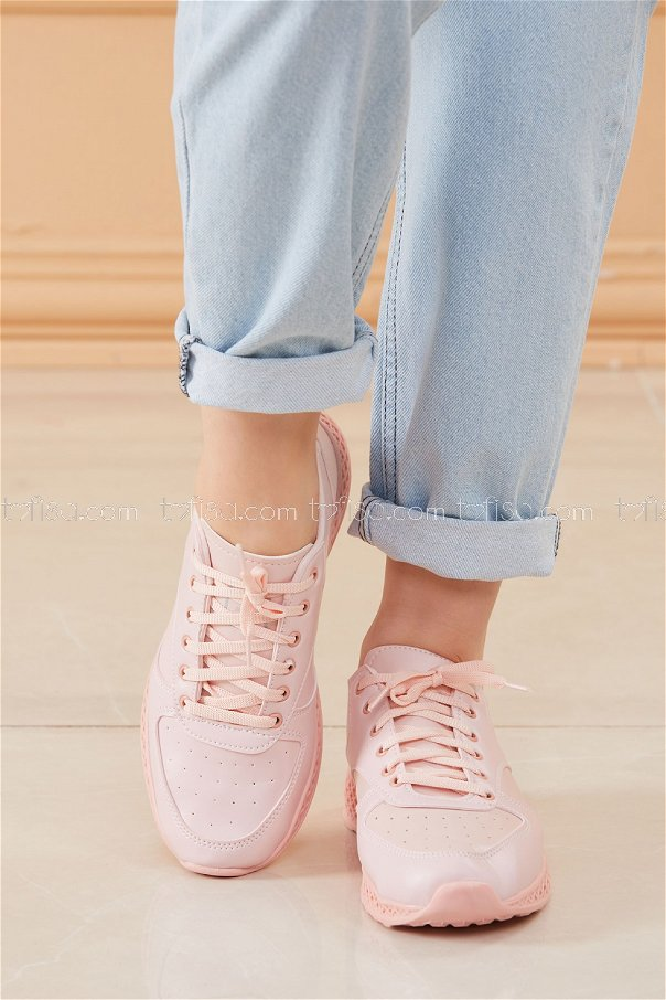 Spor Ayakkabı Pudra - 8690