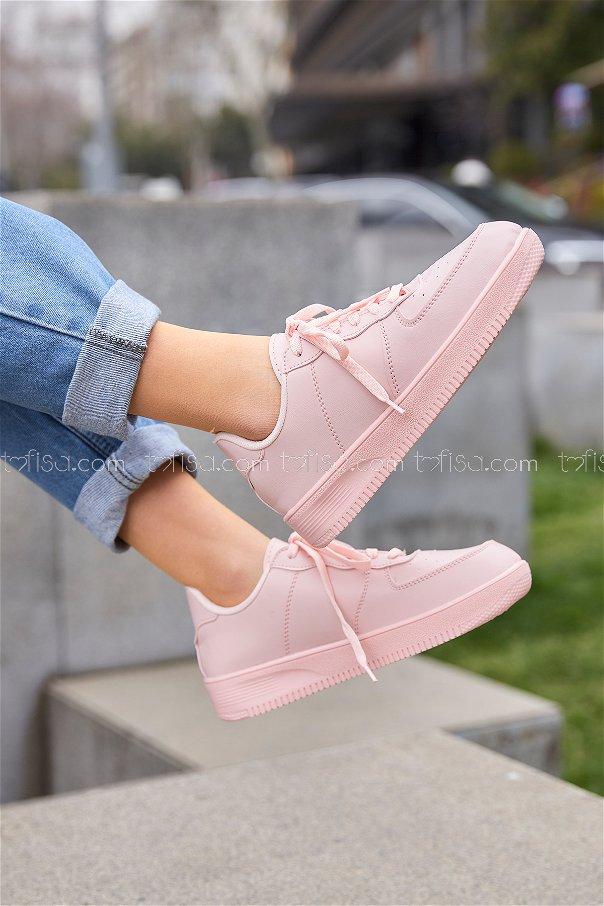 Spor Ayakkabı Pudra - 8714