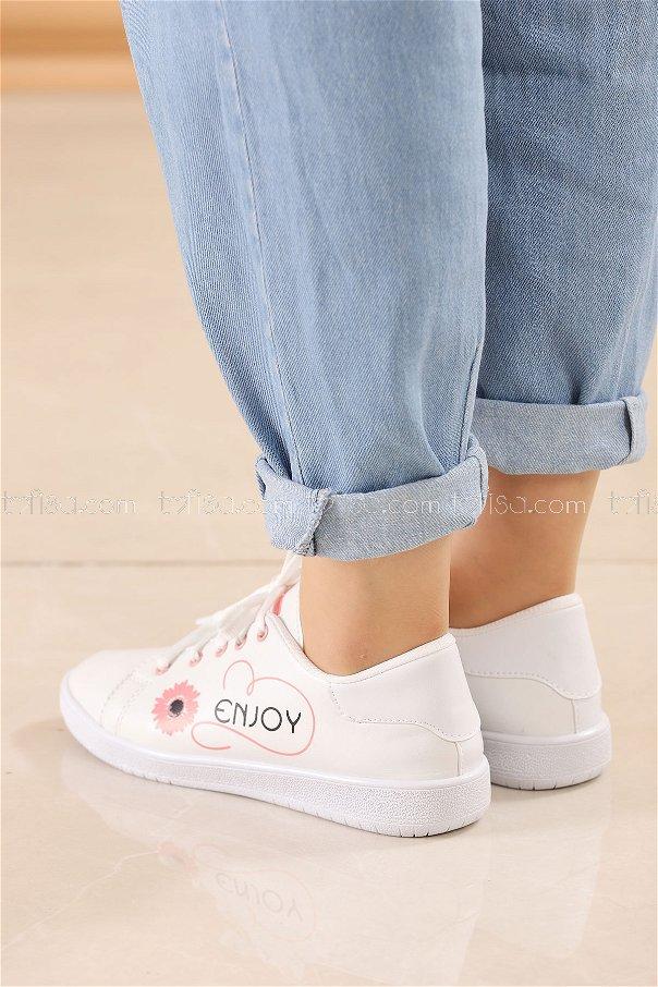 Spor Ayakkabı PUDRA - 8839