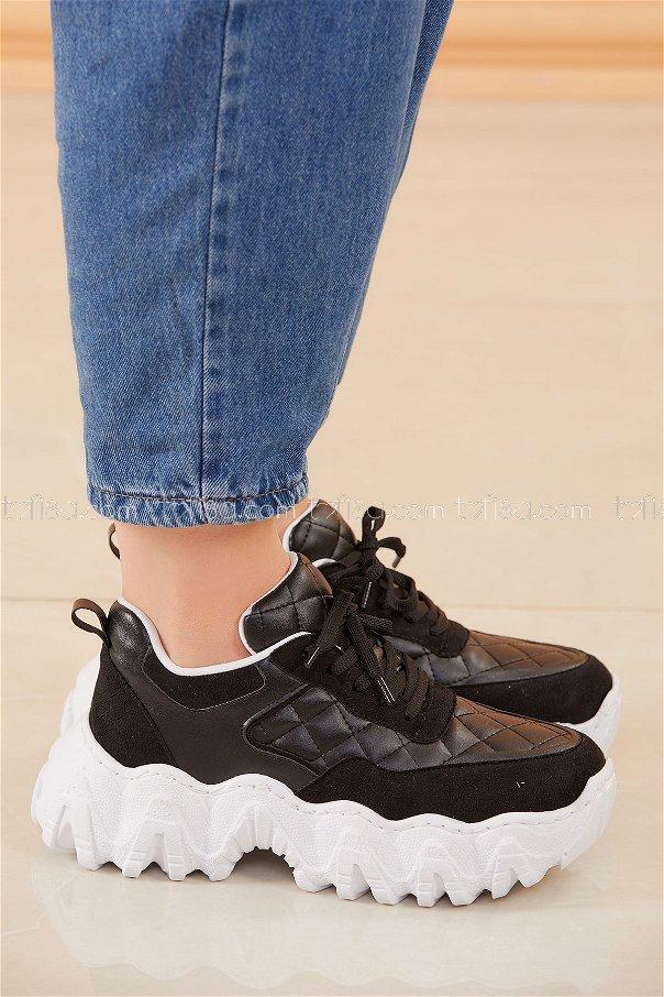 Spor Ayakkabı SIYAH - 20574