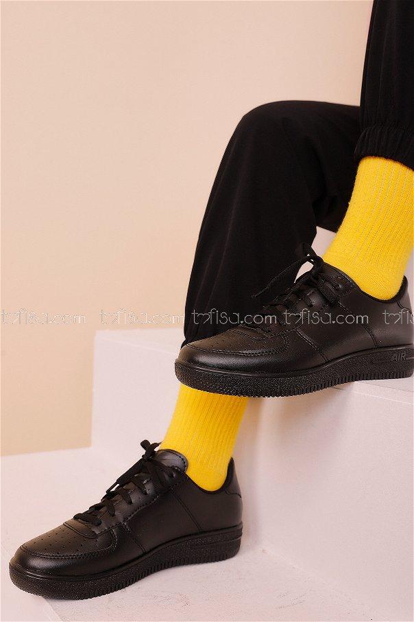 Spor Ayakkabı Sıyah - 8688