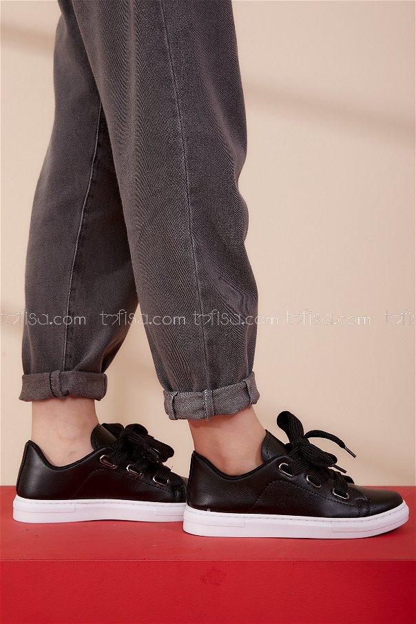 Spor Ayakkabı Sıyah - 8689