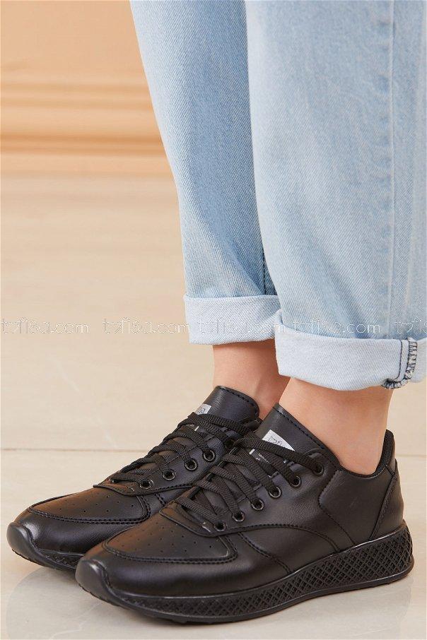 Spor Ayakkabı Sıyah - 8690