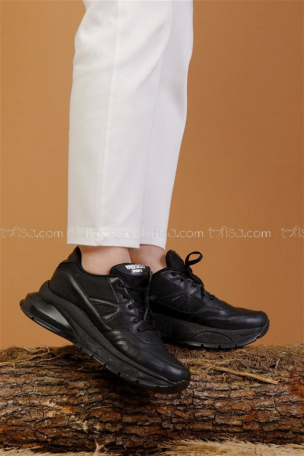 Spor Ayakkabı Sıyah - 8703
