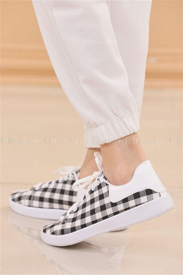 Spor Ayakkabı SIYAH - 8846