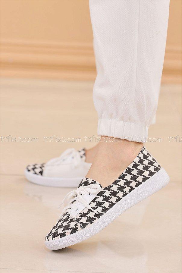 Spor Ayakkabı SIYAH - 8847