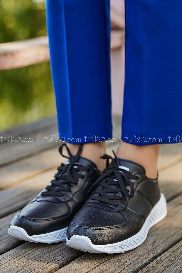 Spor Ayakkabı SYH BEYAZ SIYAH - 8838