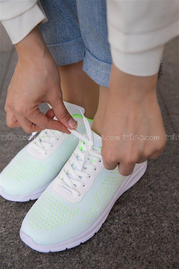 Spor Ayakkabı YESIL - 20150