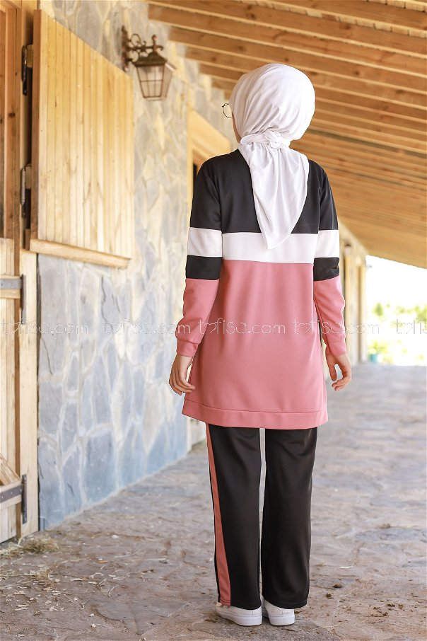 Sport Tunic and Pants Combine Dried Rose - 02 6570