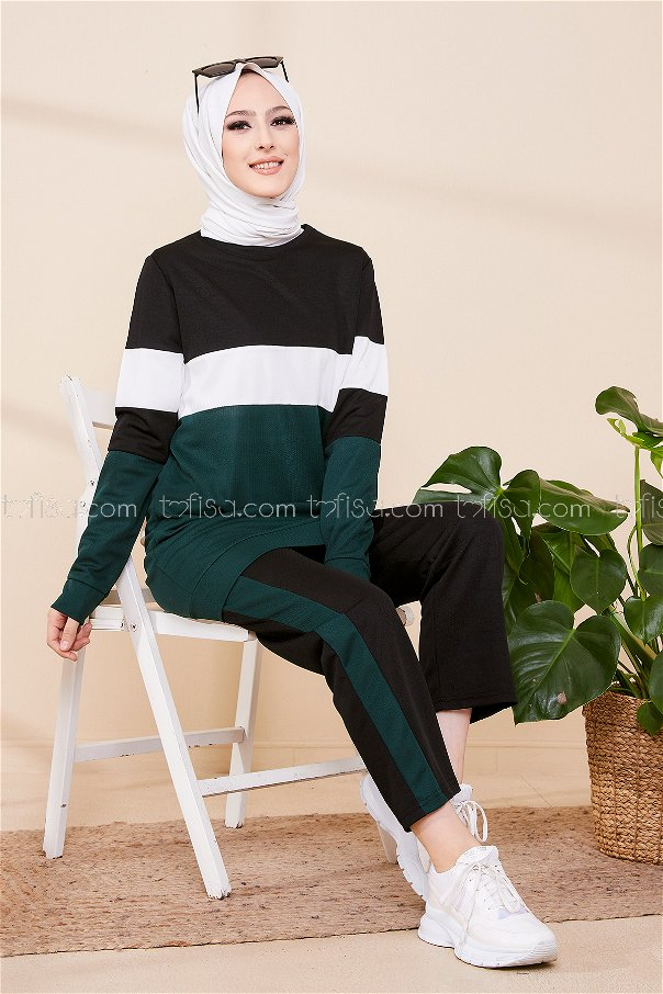 Sport Tunic and Pants Combine Emerald - 02 6570