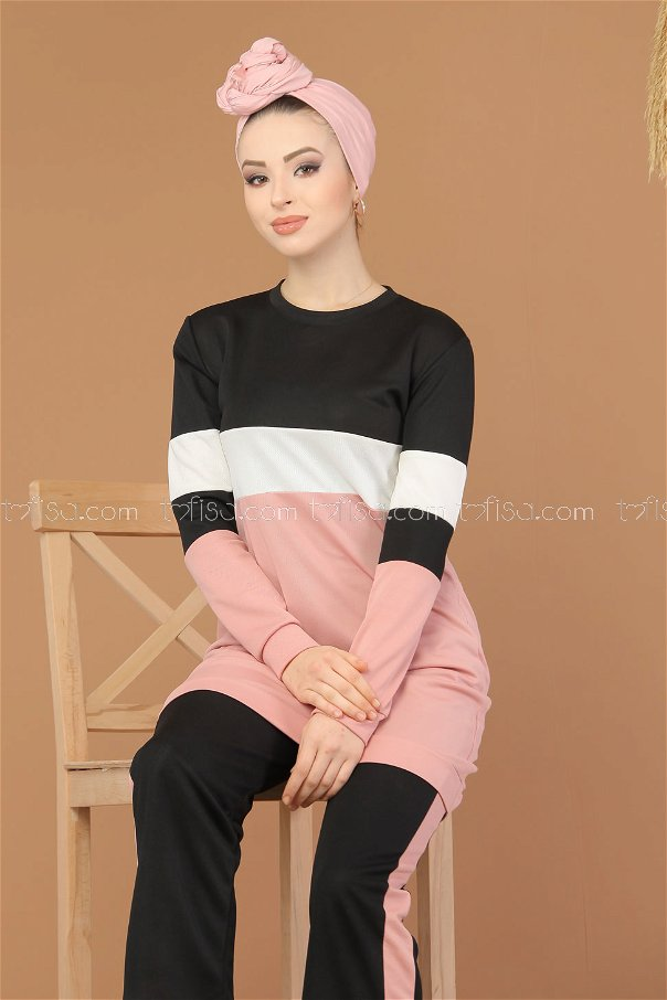 Sport Tunic and Pants Combine Powder - 02 6570