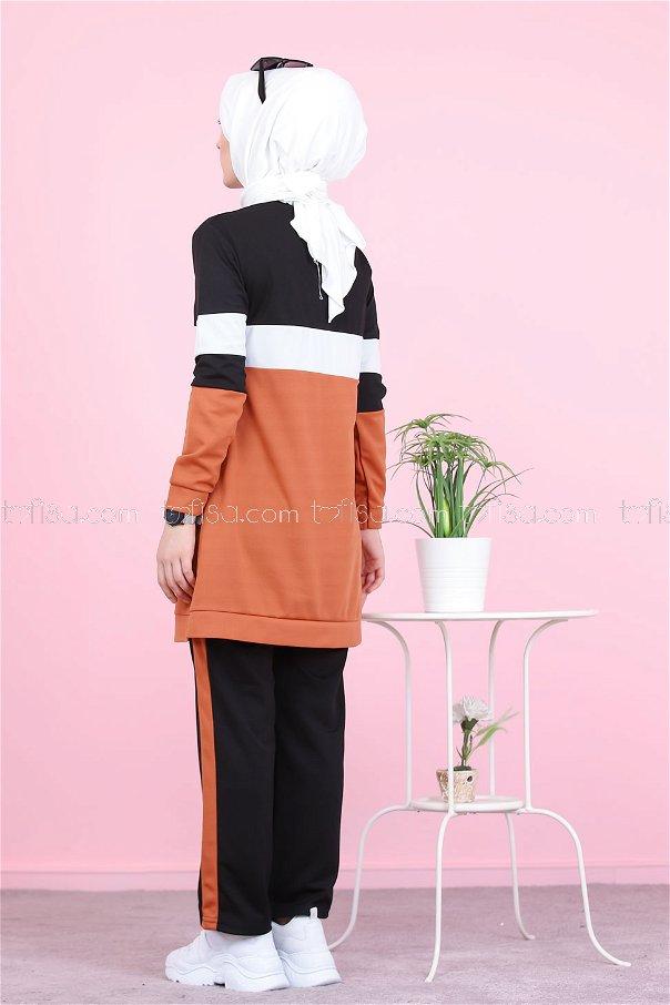 Sports Tunic Pants Kombin Tile - 02 6570