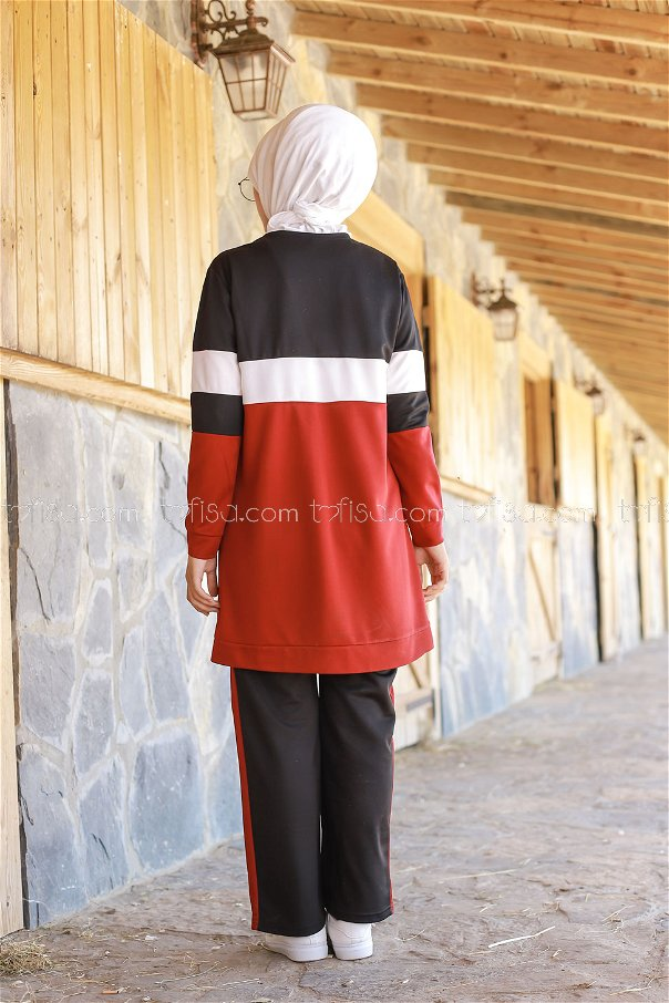 SPORT TUNIC PANTS RED **02 6570