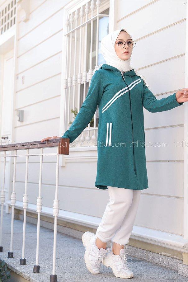 Striped Cap Emerald - 4121