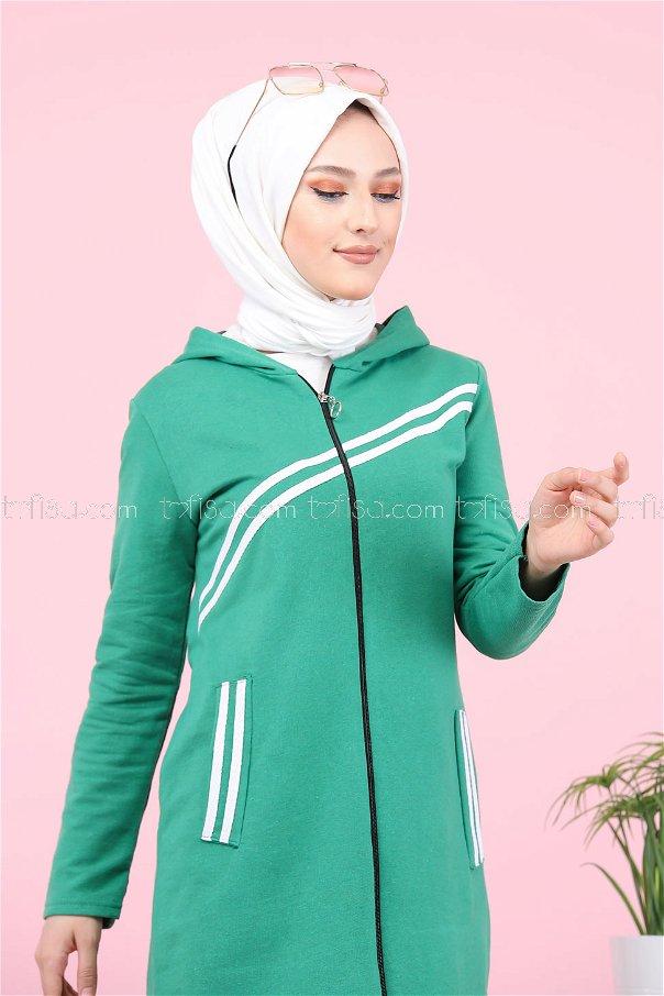 Striped Cap Green - 4121
