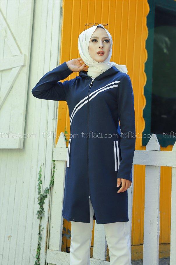 Striped Cap Navy - 4121