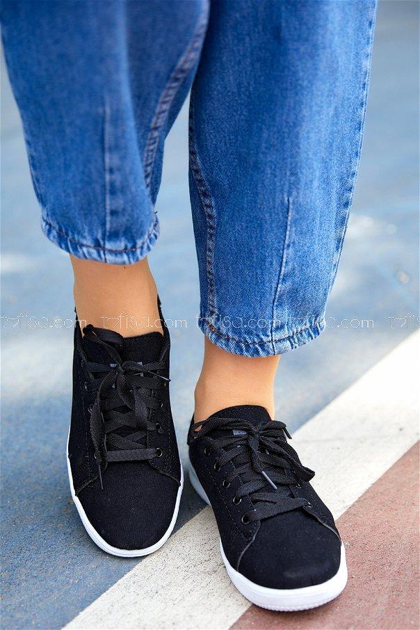 Suet Ayakkabı SIYAH - 8710
