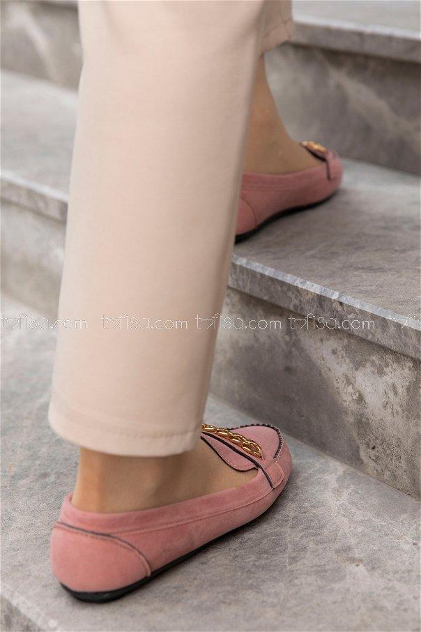 Sunı Derı Ayakkabı PUDRA - 20140