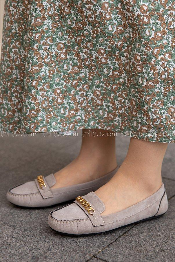 Sunı Derı Ayakkabı VIZON - 20140