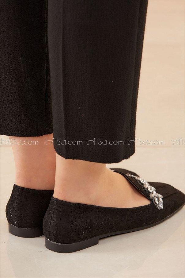Taslı Babet Ayakkabı SIYAH - 20592