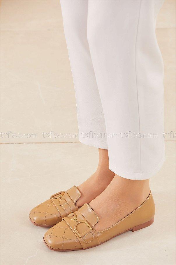 Tokalı Babet Ayakkabı VIZON - 20415