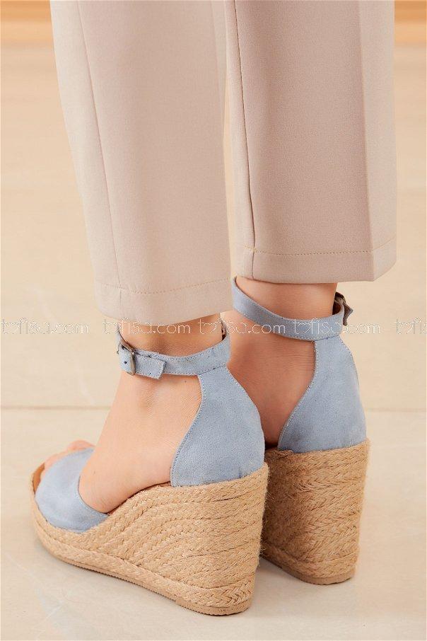 Topuklu Ayakkabı BEBE MAVI - 20593