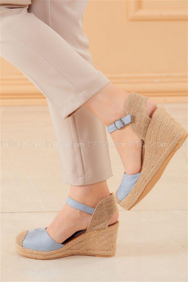 Topuklu Ayakkabı BEBE MAVI - 20594