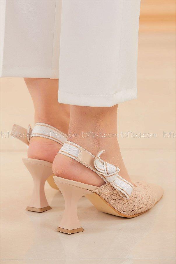 Topuklu Ayakkabı BEJ - 20576