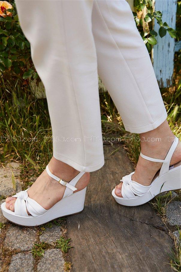 Topuklu Ayakkabı BEYAZ - 20406