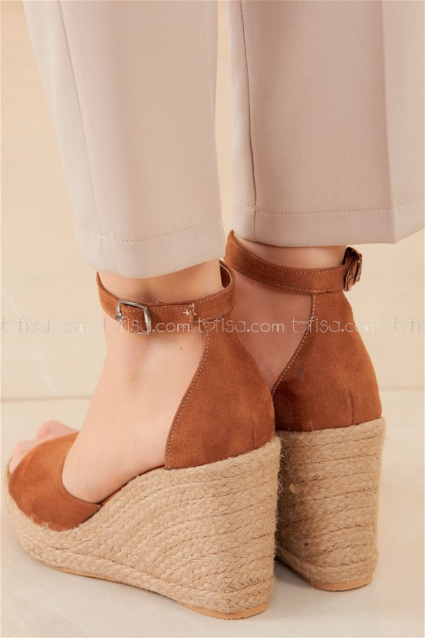 Topuklu Ayakkabı KAHVE - 20593