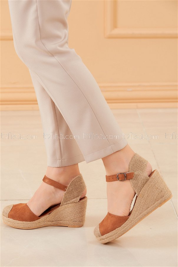 Topuklu Ayakkabı KAHVE - 20594