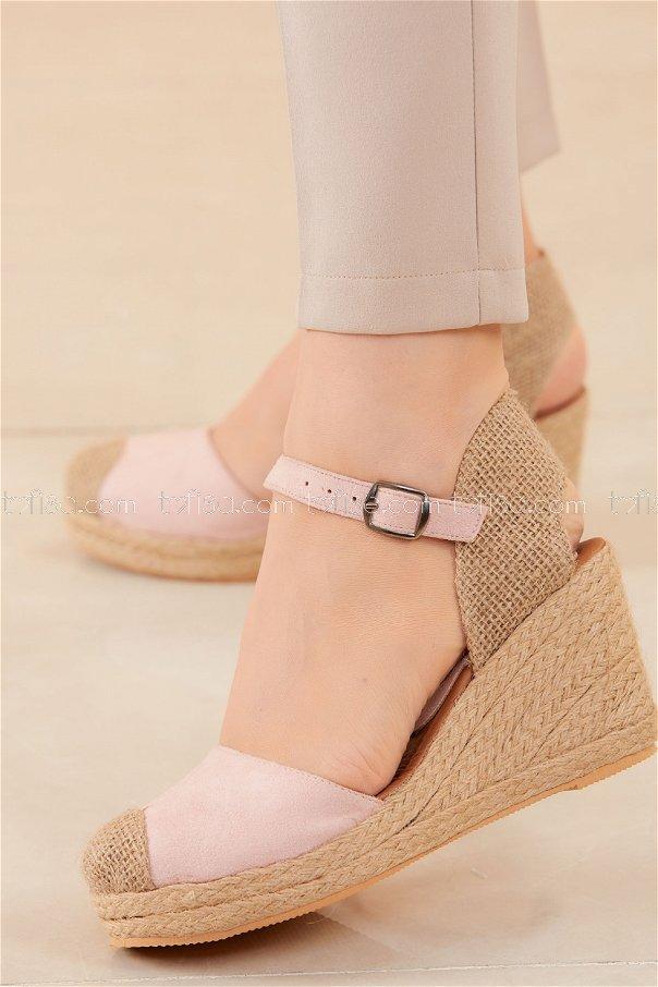 Topuklu Ayakkabı PUDRA - 20594