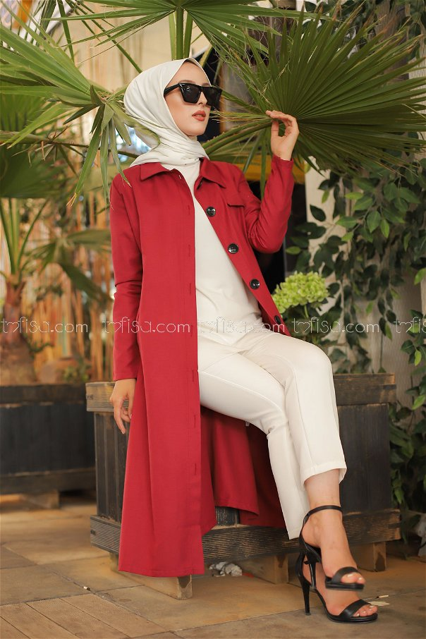 Trench Claret Red - 3045