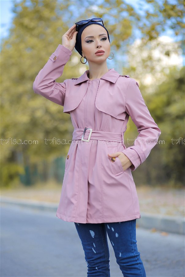 Trench Coat Lined Powder - 1294