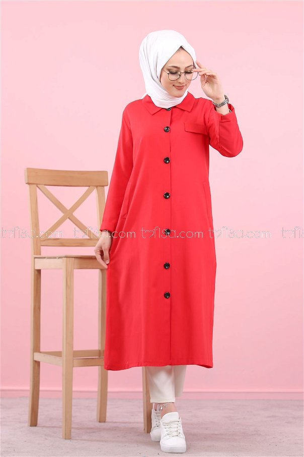 Trench Red - 3045