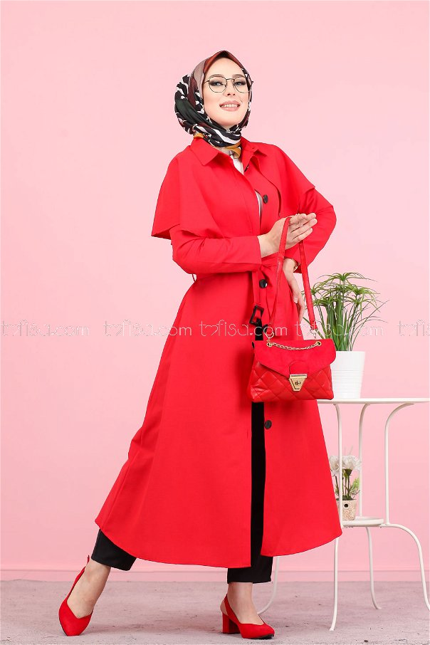 Trench Red - 3056