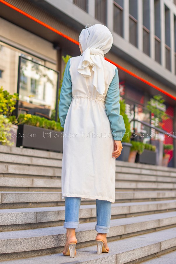 Trench Zippered Mint - 3069