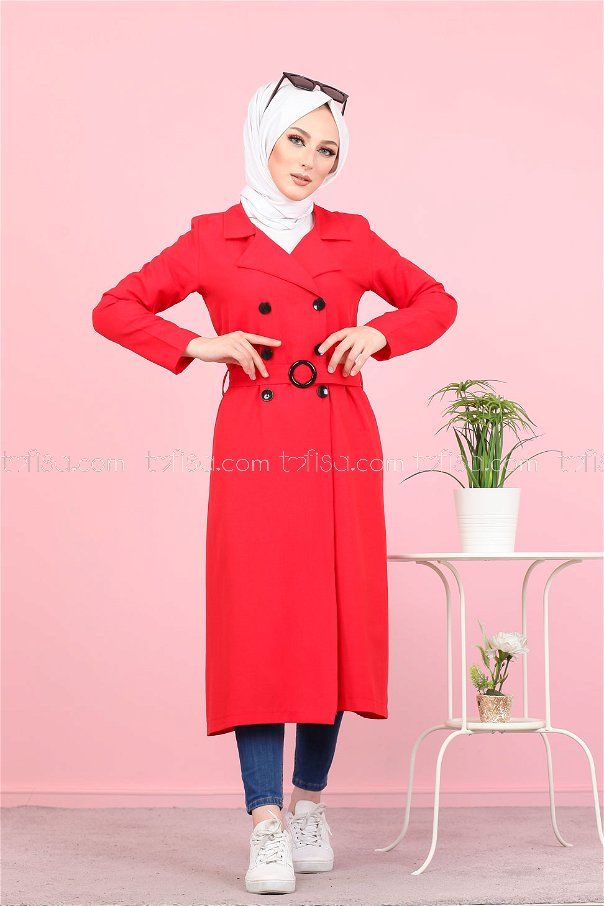 Trencher Cap Red - 3053