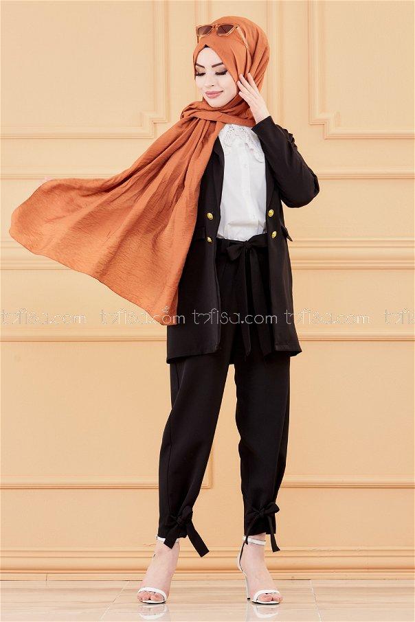 Trousers BLACK - 3524