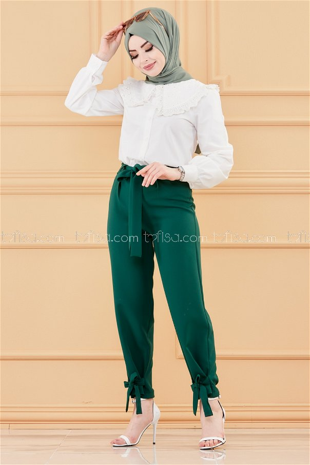 Trousers EMERALD - 3524