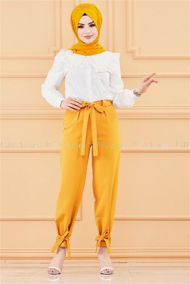 Trousers MUSTARD - 3524