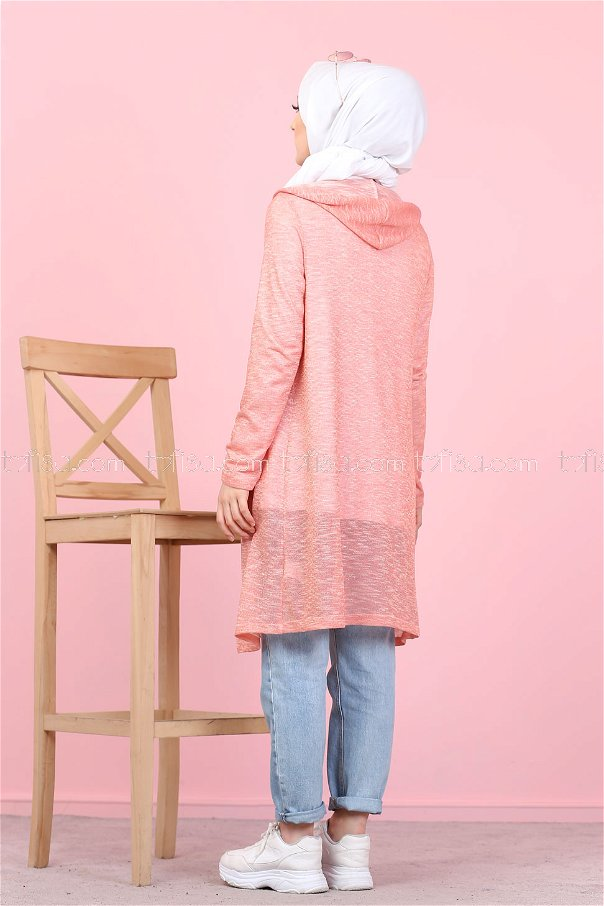 Tunic and Cardigan Pink - 3047