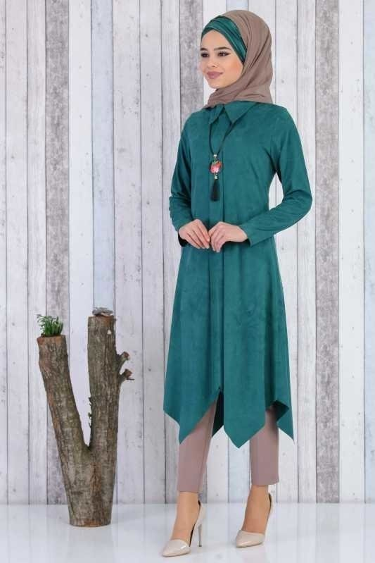 Tunic and Necklace - Emerald 02 6499