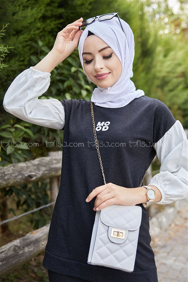 Tunic and Pants Anthracite - 3087