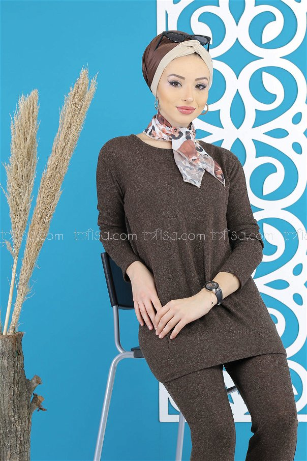 Tunic and Pants brouwn - 5170