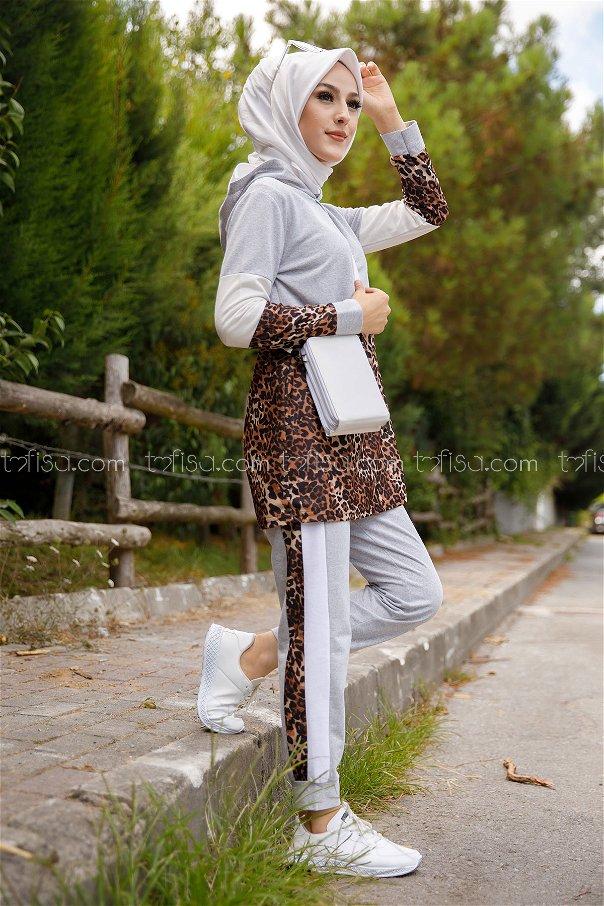 Tunic and Pants Grey - 1361